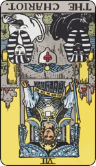 Reversed meaning of The Chariot