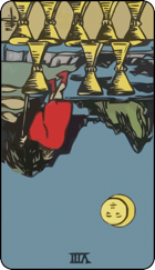 Reversed meaning of the Eight of Cups