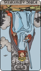 Reversed meaning of the King of Swords