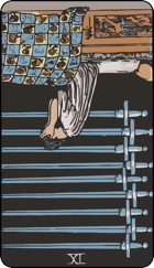 Reversed meaning of the Nine of Swords