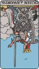 Reversed meaning of the Queen of Swords