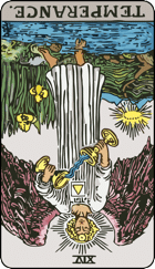 Reversed meaning of The Temperance