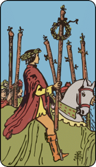 6 of Wands
