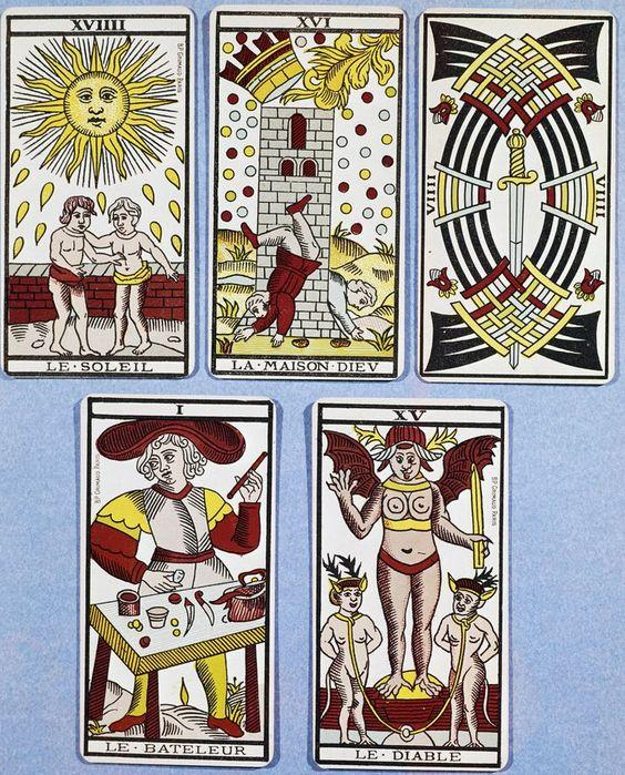 The history of the Tarot deck