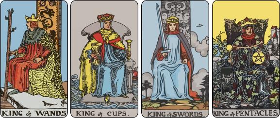 The combination of Tarot Court cards in a Tarot spread - TarotX