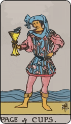 Page of Cups: INFP