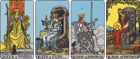 The overview of Queen cards