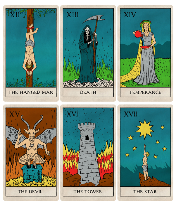 major arcana tarot 4