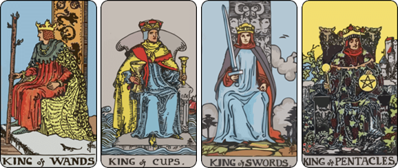 career tarot the king