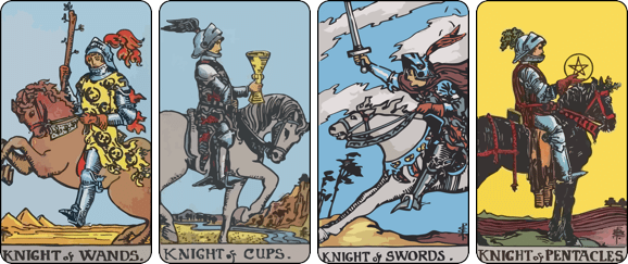 career tarot the knight