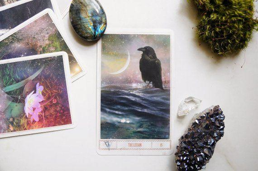 Step 06 – Learn the message through the Oracle cards