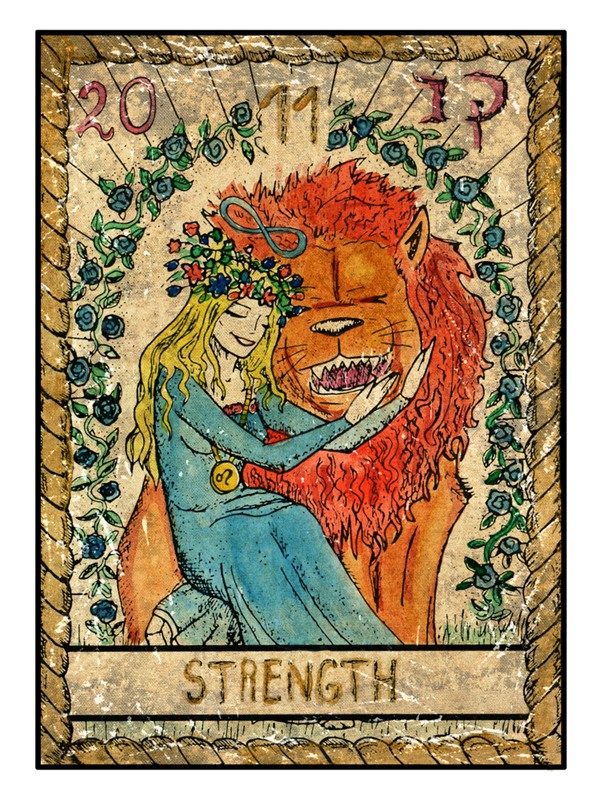 strength Tarot love