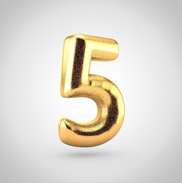 tarot numerology 5