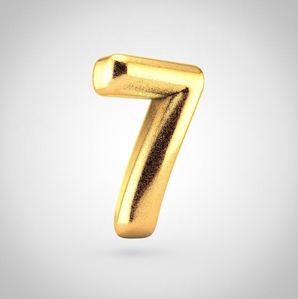tarot numerology 7