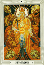 The Hierophant Thoth