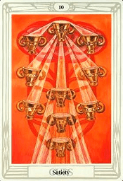 10 of Cups Thoth