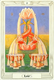 2 of Cups Thoth