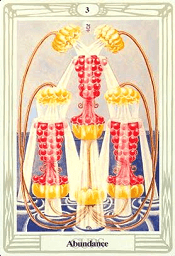 3 of Cups Thoth