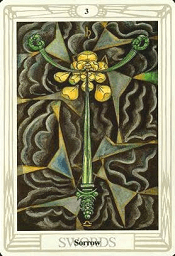 3 of Swords Thoth