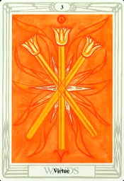 3 of Wands Thoth