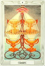 4 of Cups Thoth