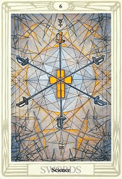 6 of Swords Thoth