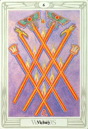 6 of Wands Thoth