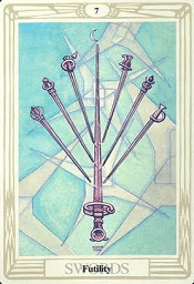 7 of Swords Thoth