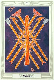 7 of Wands Thoth