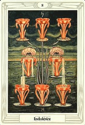 8 of Cups Thoth