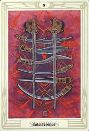 8 of Swords Thoth
