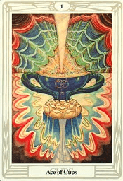 Ace of Cups Thoth