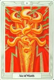 Ace of Wands Thoth