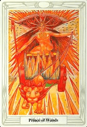 Prince Of Wands Thoth