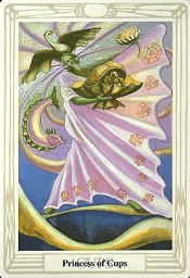Princess Of Cups Thoth