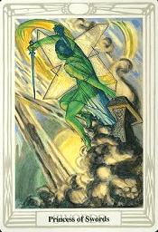 Princess Of Swords Thoth