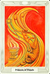 Princess Of Wands Thoth