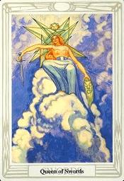 Queen of Swords Thoth