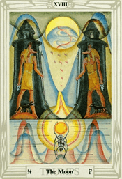 The Moon Thoth