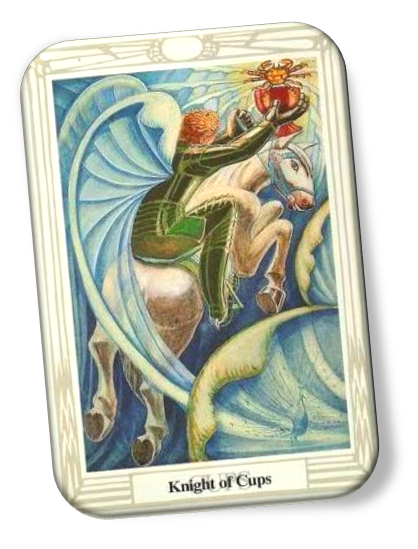 Knight of Cups Thoth Tarot Card Meanings - Aleister Crowley