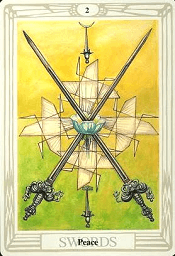 2 of Swords Thoth