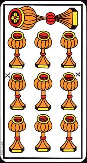 10 De Coupe Tarot