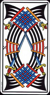 10 D'épée Tarot
