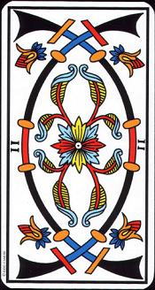 2 D'épée Tarot