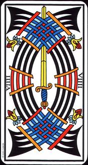 9 D'épée Tarot