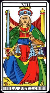 La Justice Tarot