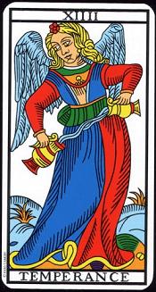 Tempérance Tarot