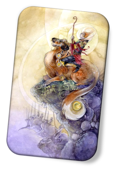 meaning of the Nine of Wands Shadowscapes Tarot