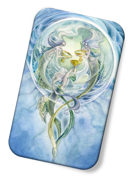 meaning of the Three of Cups Shadowscapes Tarot