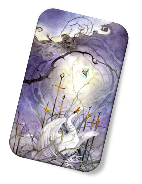 The meaning of the Eight of Swords Shadowscapes Tarot